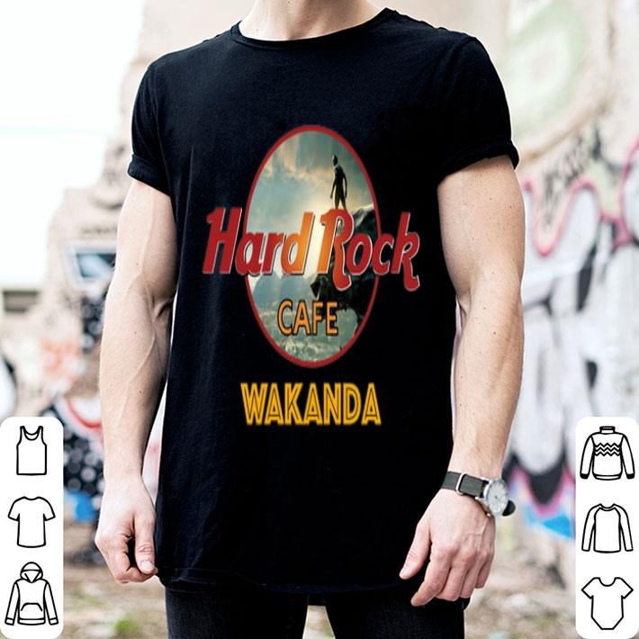 Hard Rock Cafe Wakanda shirt