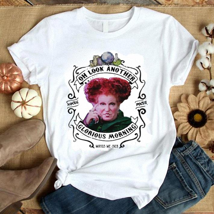 Hocus Pocus Winifred Sanderson oh look another glorious morning shirt