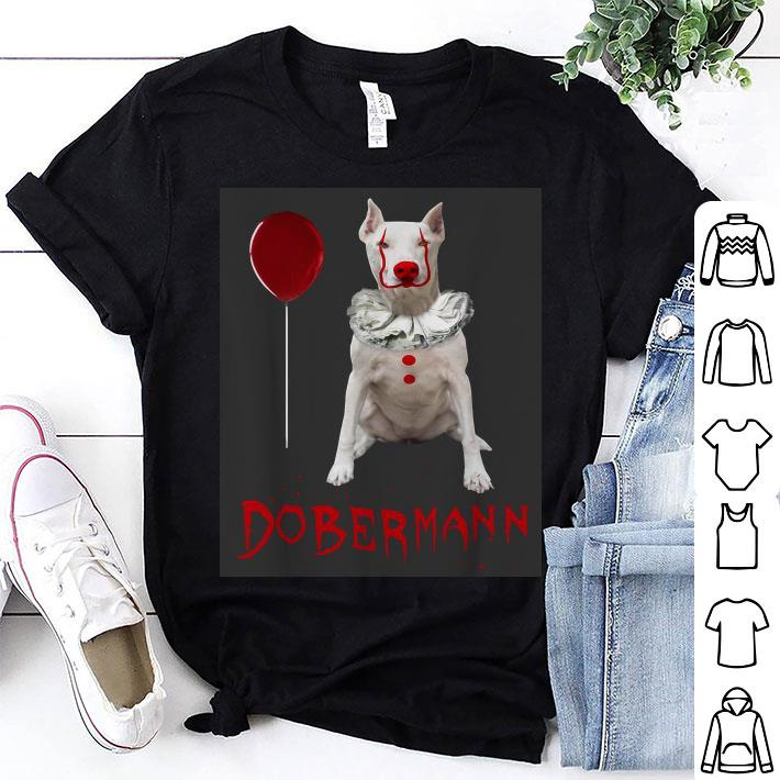 IT Pennywise Dobermann dog shirt