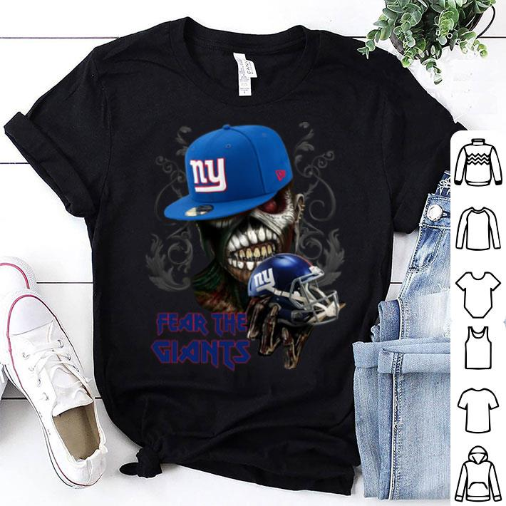 Iron Maiden fear the New York Giants shirt