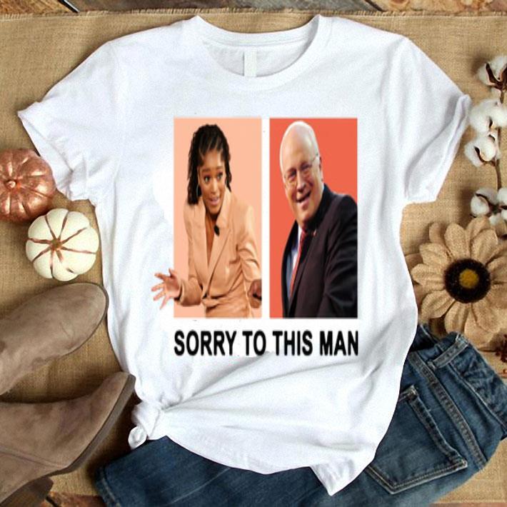 Keke Palmer Sorry to this man Dick Cheney shirt