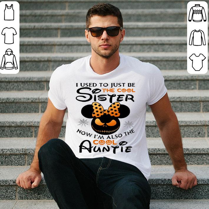Minnie Jack Skellington I used to just be the cool sister now shirt