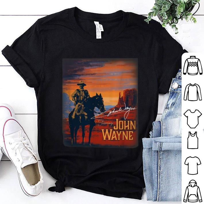 Signature Starring John Wayne shirt