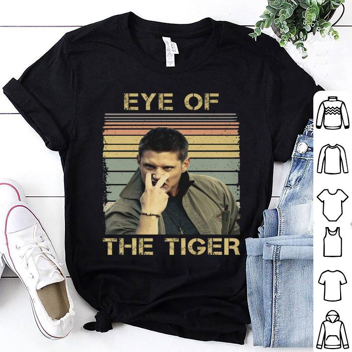 Vintage Eye Of The Tiger Dean Winchester shirt