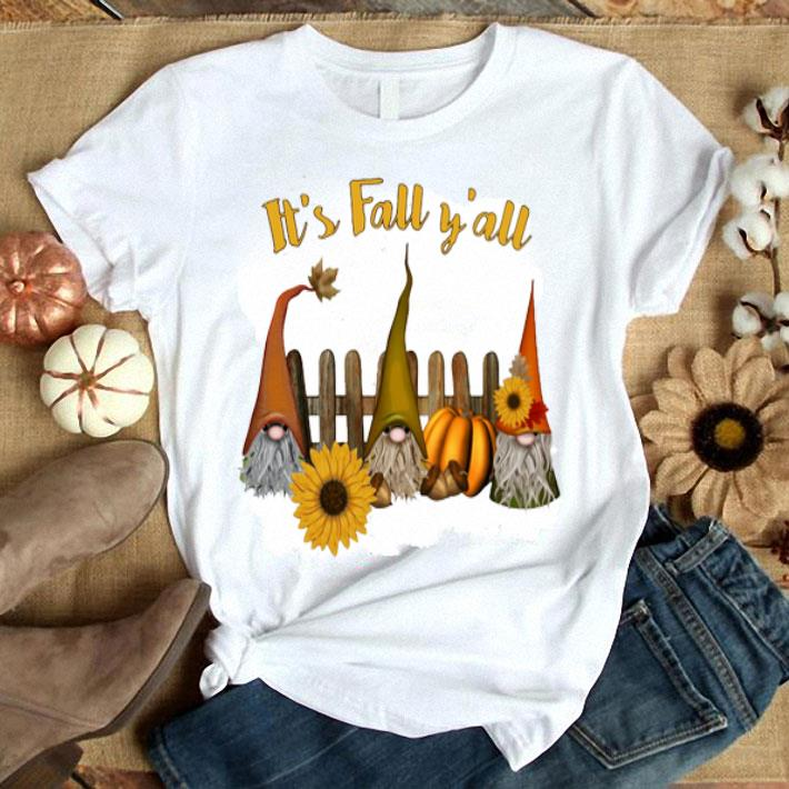 Witch sunflower It's fall y'all shirt