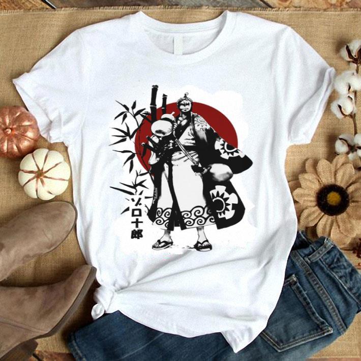 Zoro Wano Kuni One Piece Sunset shirt