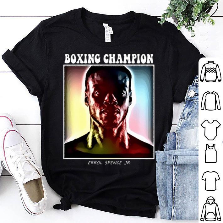 Boxing champion Errol Spence Jr Colorful shirt