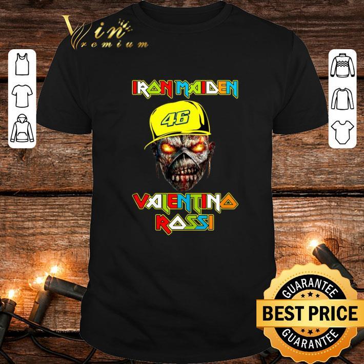 Cheap Iron Maiden Valentino Rossi 46 shirt
