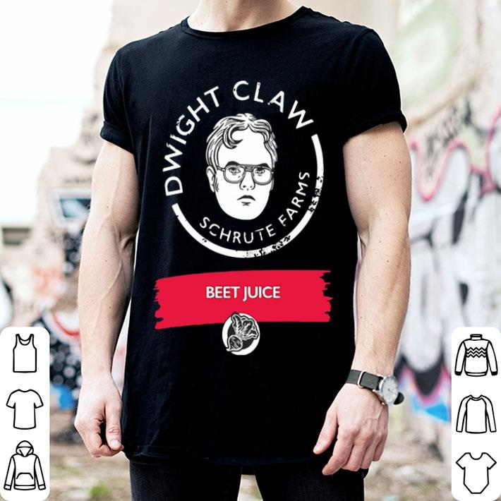Dwight Claw Schrute Farms Beet Juice shirt