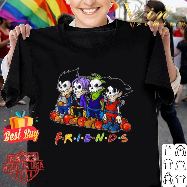 Friends Dragon ball Halloween shirt