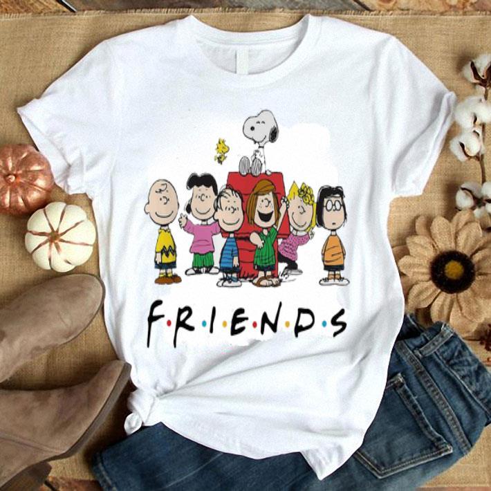 Friends Peanut Snoopy Charlie Brown shirt