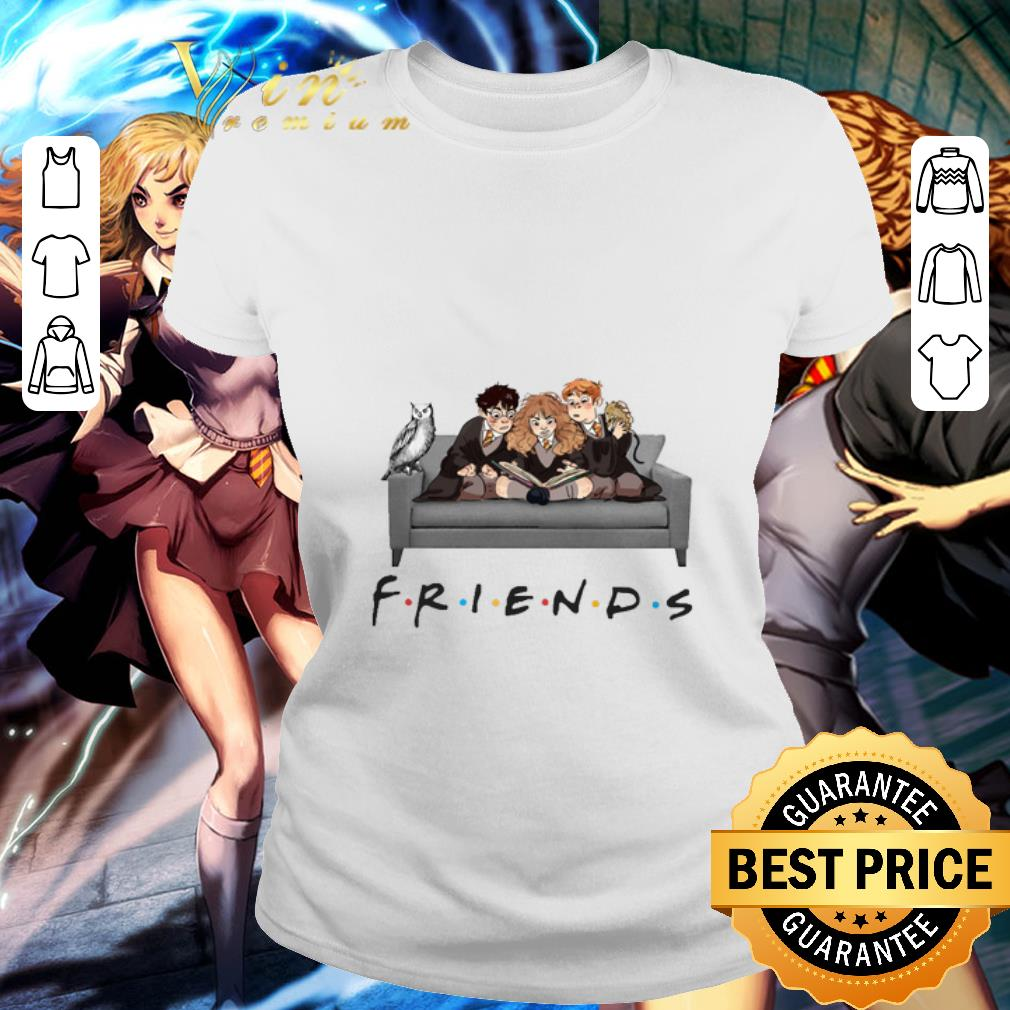 Friends TV Series Harry Potter Characters shirt