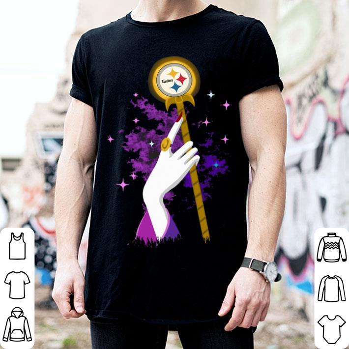 Hand Maleficent Pittsburgh Steelers shirt