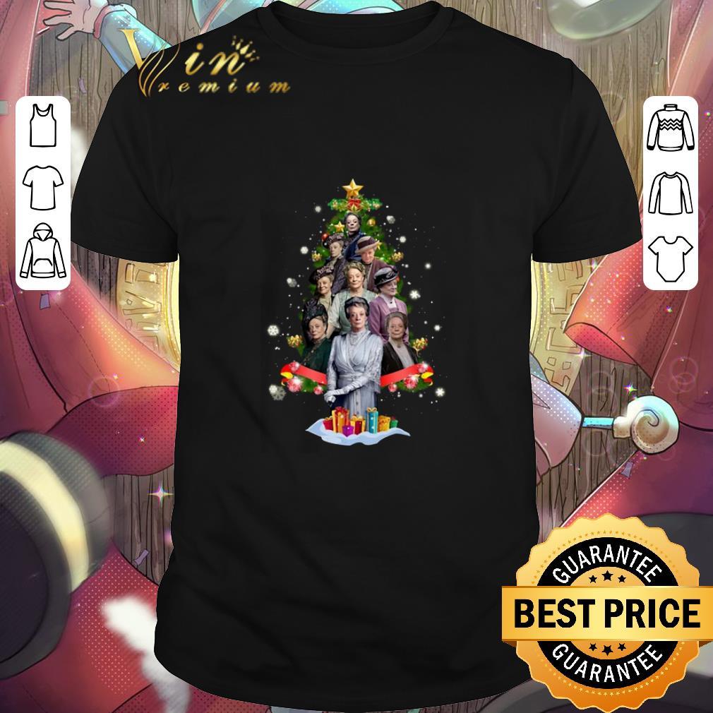 Hot Violet Crawley Christmas trees shirt