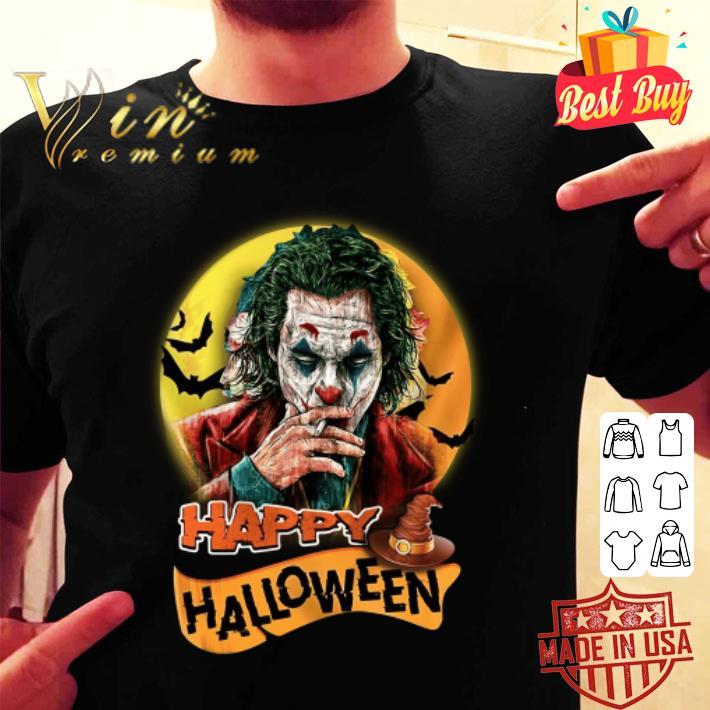 Joker Happy Halloween Joaquin Phoenix shirt