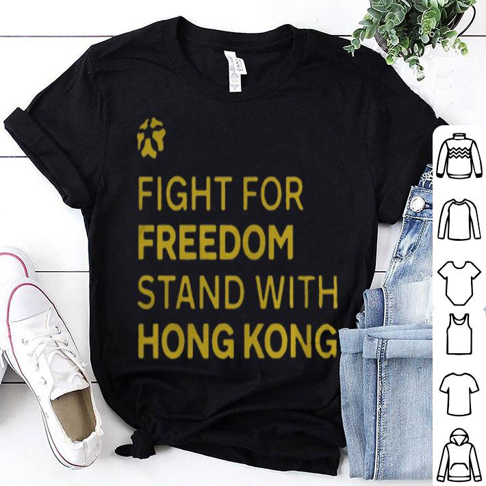 Los Angeles Lakers Fight For Freedom Stand With Hong Kong shirt
