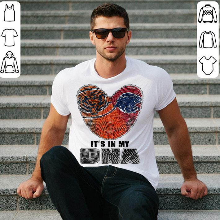 Love Chicago Bears Chicago Cubs it's in my DNA shirt