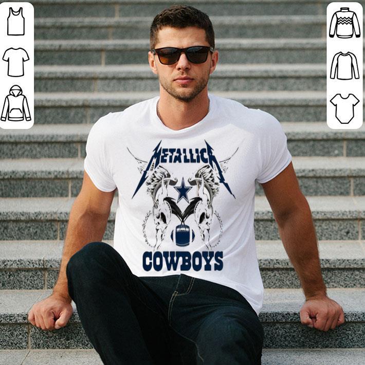Metallica Cowboys Dallas Cowboys shirt