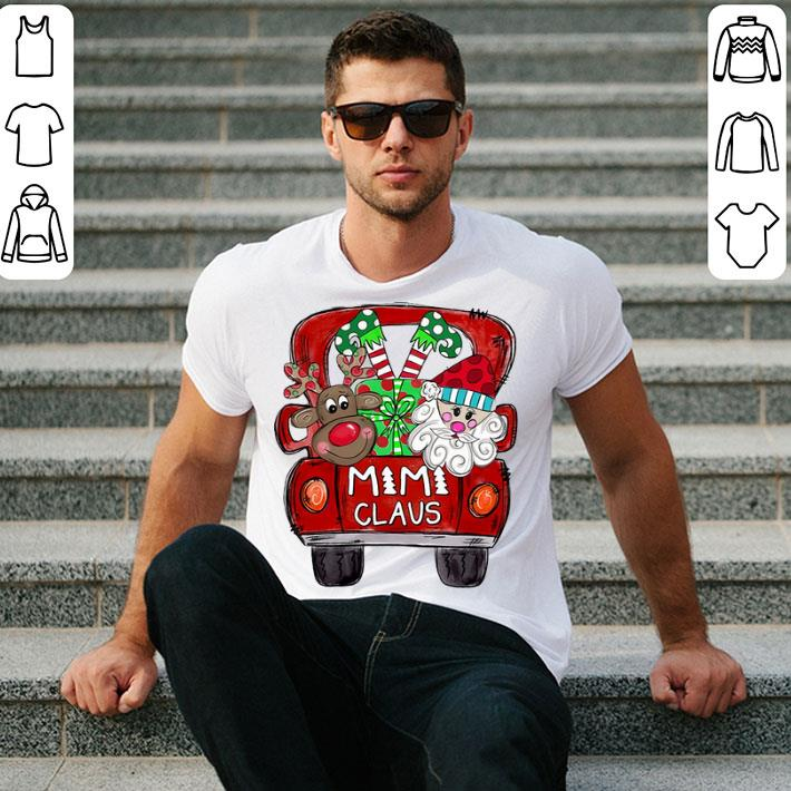 Mimi Claus Merry Christmas shirt