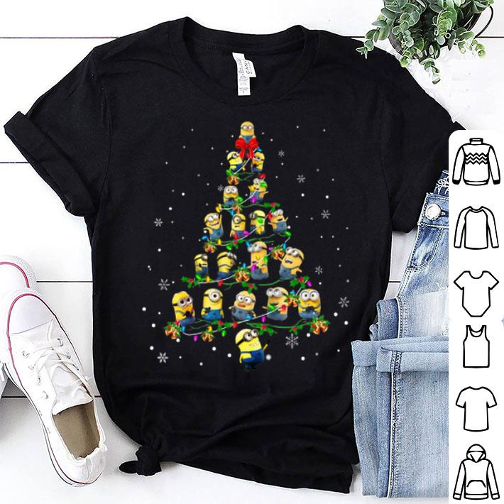 Minions Christmas trees shirt