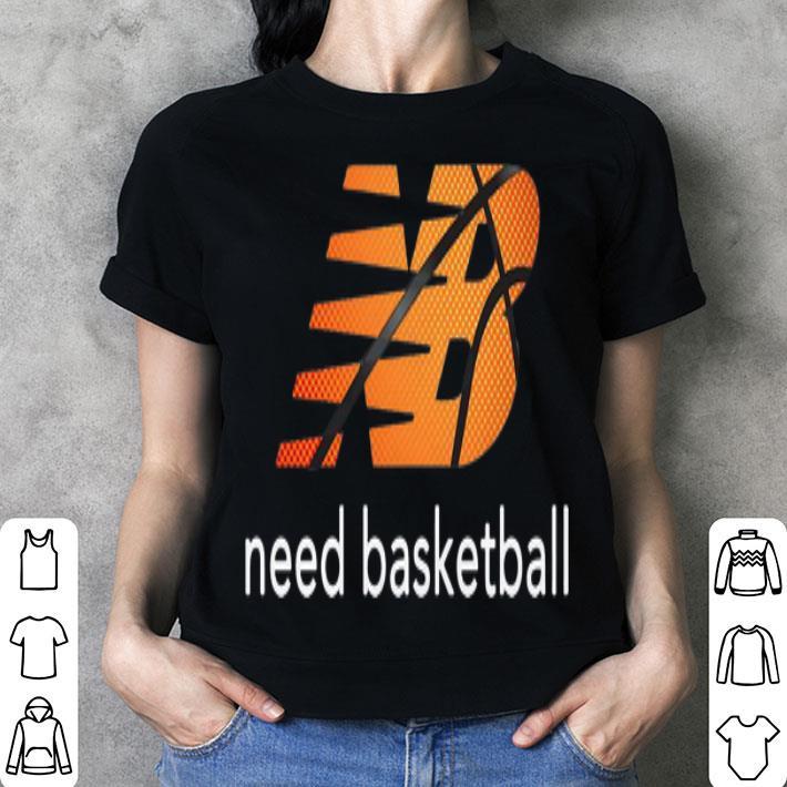 New Balance Need Baketball shirt