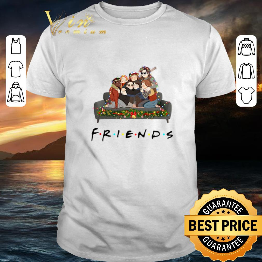 Nice Friends Stranger Things Christmas shirt