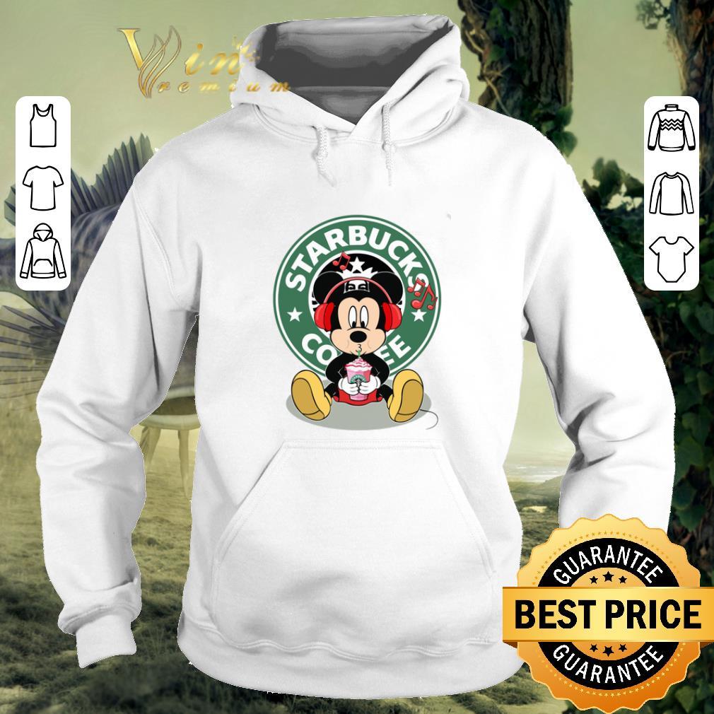 Official Mickey drink Starbucks coffee shirt