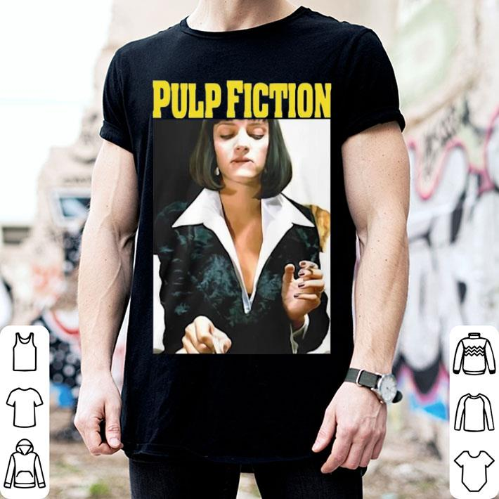 Pulp Fiction Uma Thurman shirt