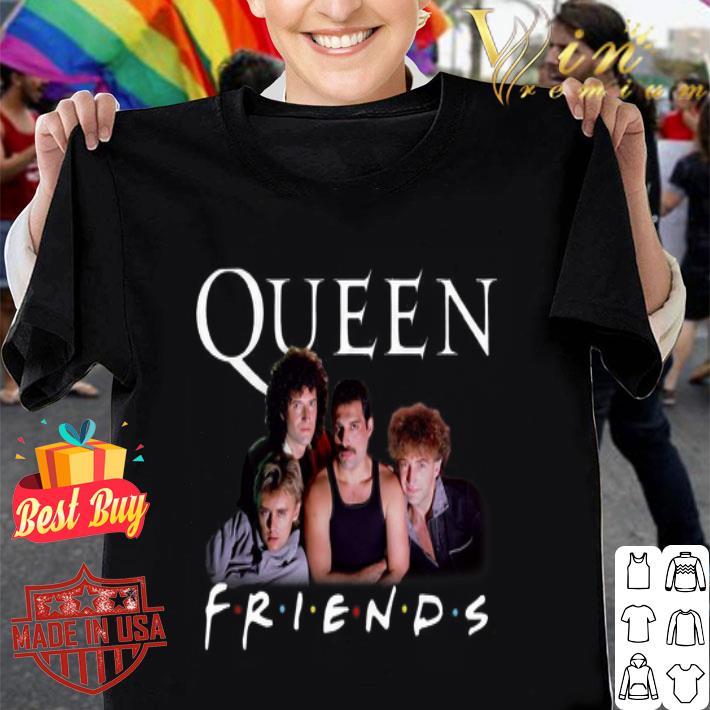 Queen Friends Freddie Mercury Brian May John Deacon Roger Taylor shirt