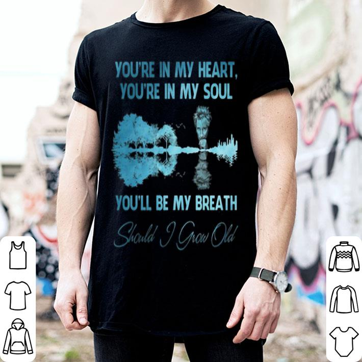 Rod Stewart You're in my heart You're in my soul guitar lake shirt