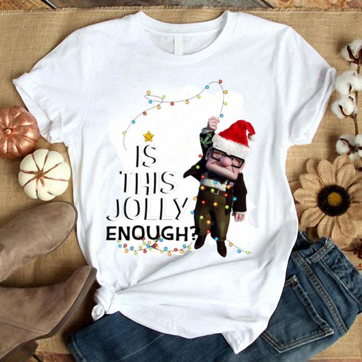 Santa Carl Fredricksen Is this jolly enough christmas lights shirt
