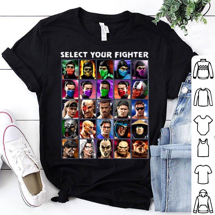 Select Your Fighter UMK3 Mortal Kombat shirt
