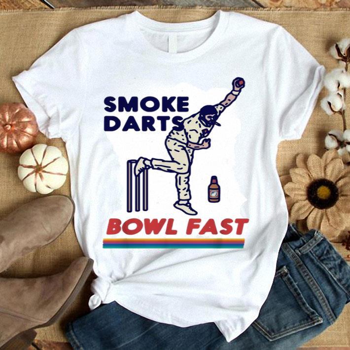 Smoke Darts Bowl Fast Beanie Combo shirt