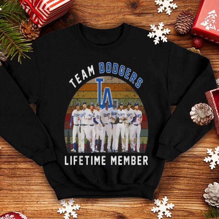 Team Los Angeles Dodgers lifetime member vintage shirt