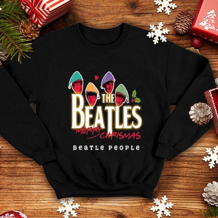 The Beatles Merry Christmas Beatle People shirt