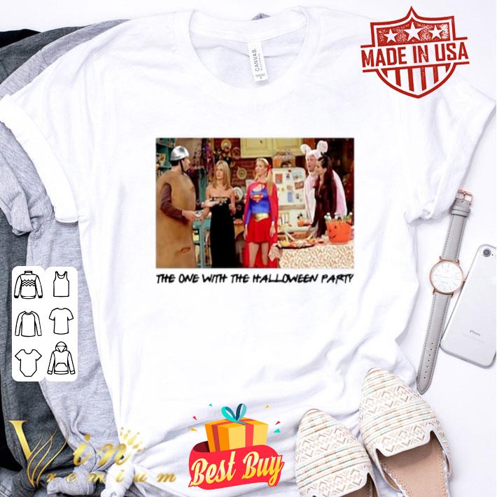 The one with the halloween party Friends TV 2001 shirt