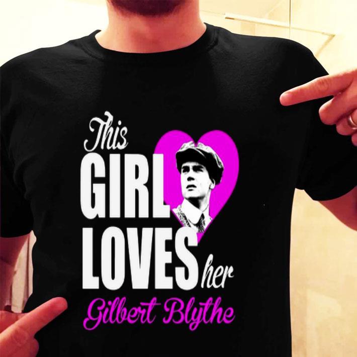 This girl loves her Gilbert Blythe shirt