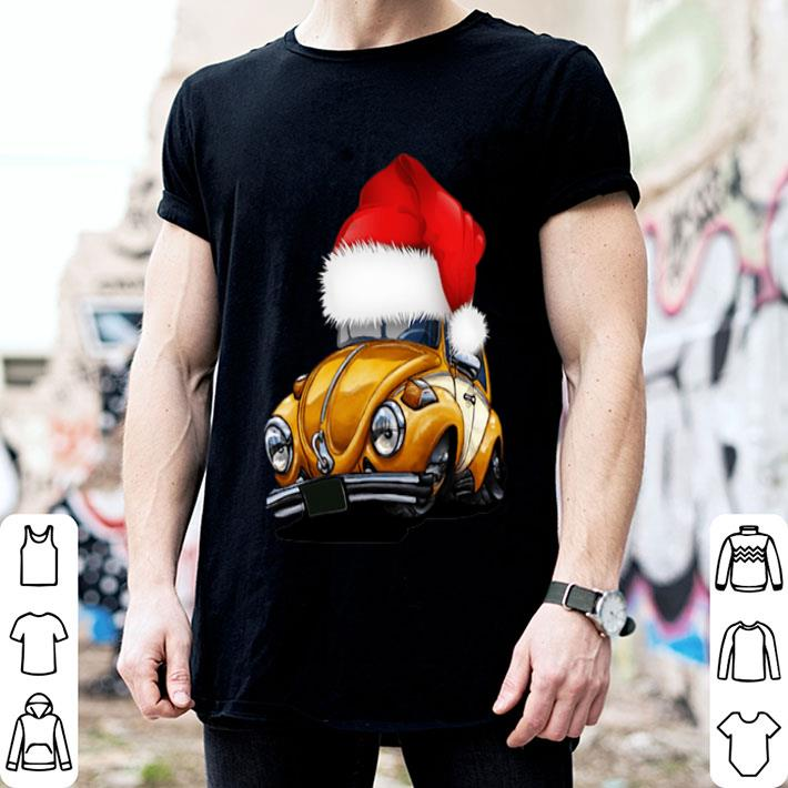 Beetle Car Santa Christmas shirt