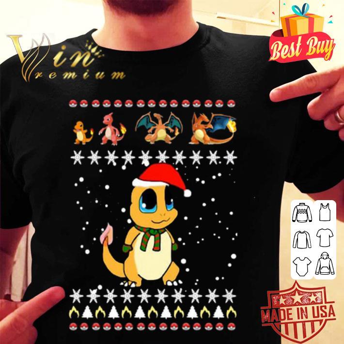 Charmander Pokemon Ugly Christmas shirt