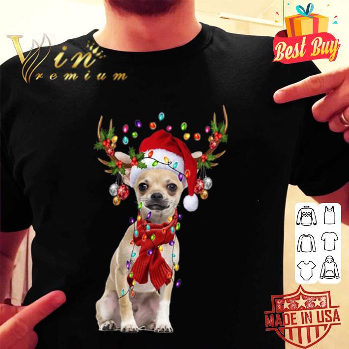 Chihuahua Reindeer Christmas shirt
