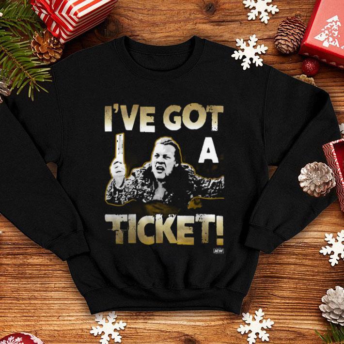 Chris Jericho I've got a ticket shirt