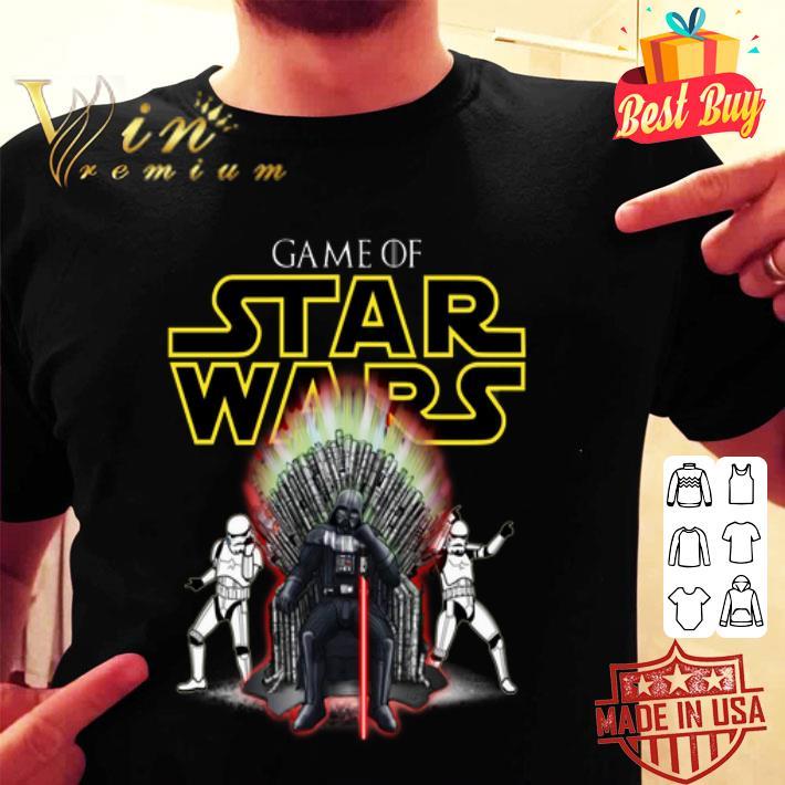 Darth Vader Game Of Star Wars shirt