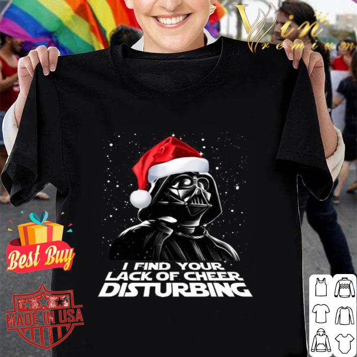 Darth Vader i find your lack of cheer disturbing Christmas shirt