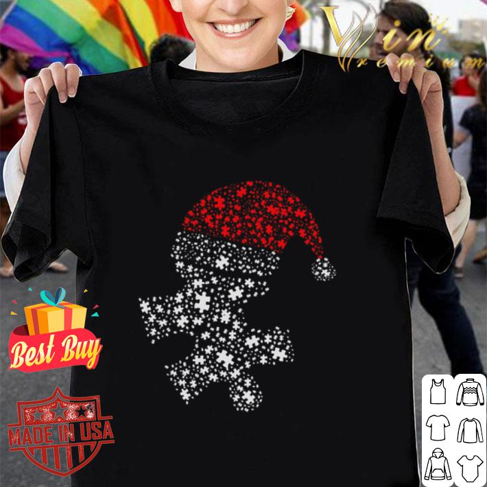 Diamond Autism Santa Christmas shirt