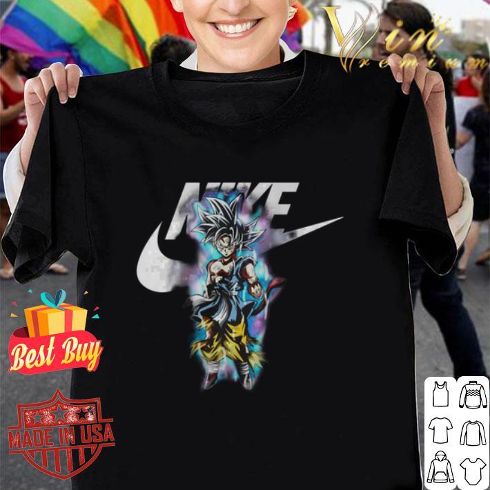 Dragon ball Son Goku Ultra Instinct Nike just do it shirt