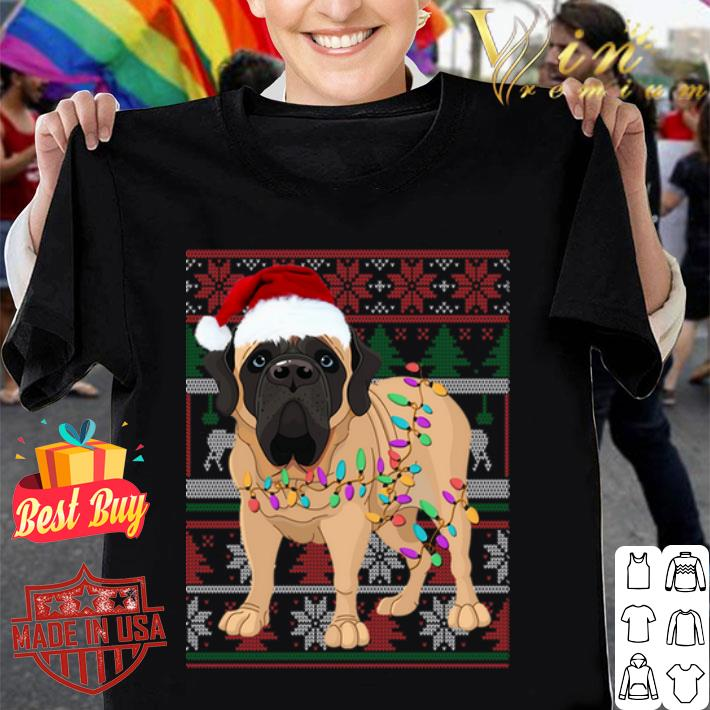 English Mastiff Ugly Christmas sweater