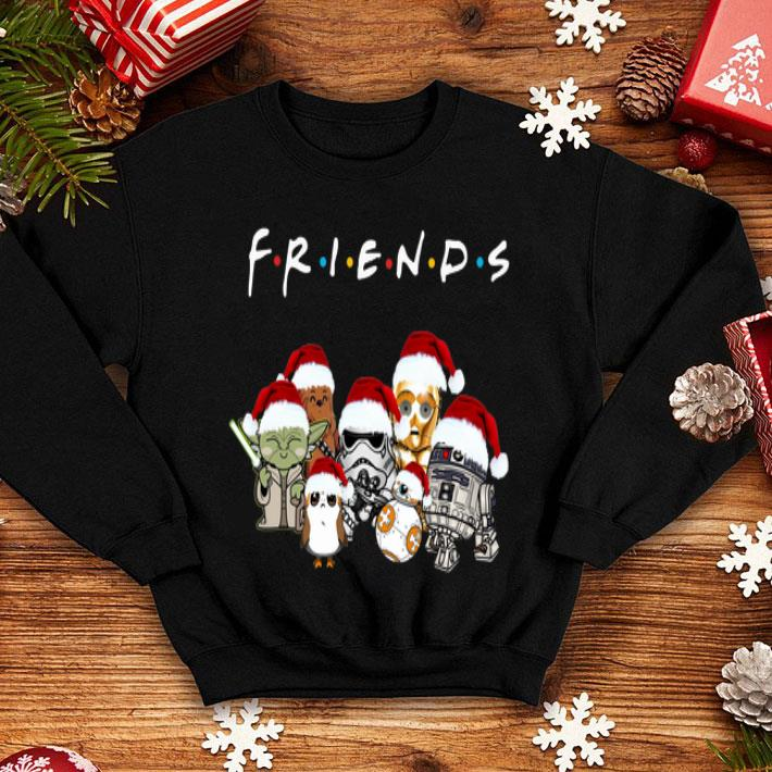 Friends Star War chibi characters shirt