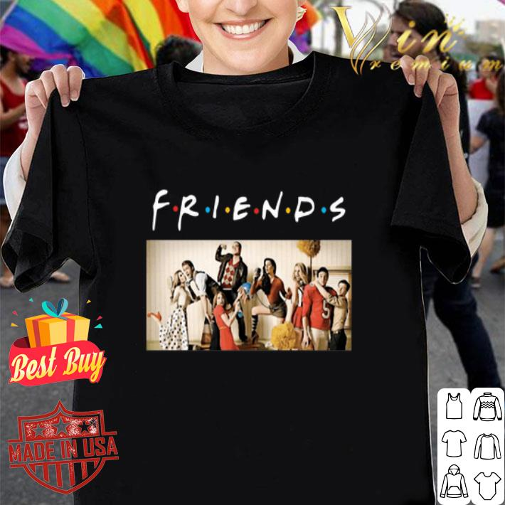 Friends TV Glee Cast Rolling Stone shirt