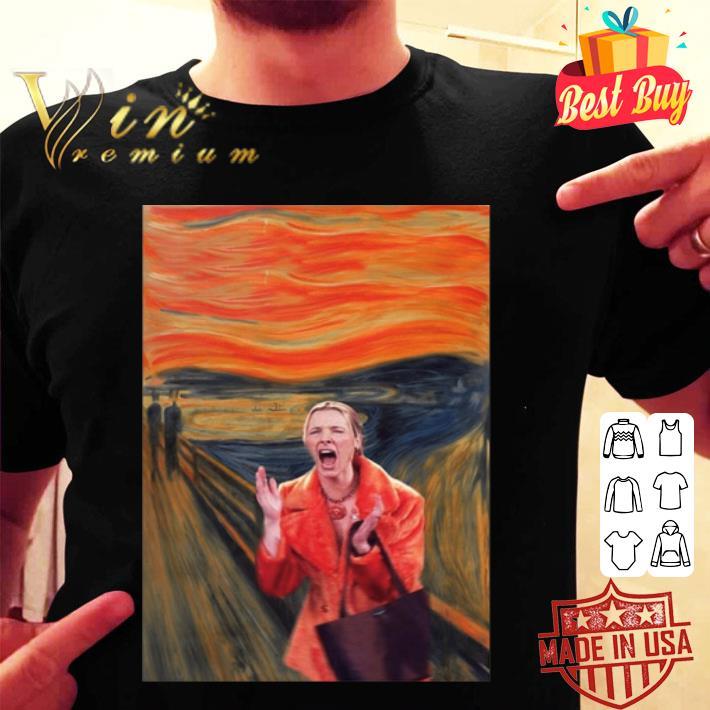 Friends TV Shows Van Gogh shirt