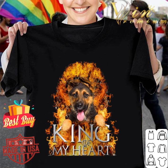 German Shepherd King of my heart Game Of Thrones shirt